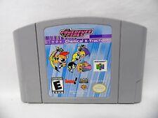 Powerpuff Girls: Chemical X-traction (Nintendo 64, 2001) CARTRIDGE ONLY