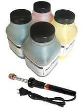 4 Color Toner Refill w chips and tool for HP 1600 2600n 2605dn 2605dtn CM1015mfp