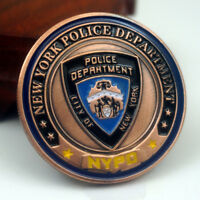 US City New York Police Department Saint Michael Challenge Coin Art Collectible