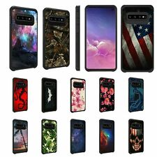 For Samsung Galaxy S10+ / S10 Plus Hybrid Dual Layer Hard Protective Slim Case