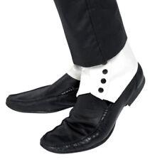 Complementos blancos de poliéster para disfraces y ropa de época, años 20-30