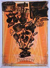 Tweedy Gig Poster, Brooklyn 2014 (Original Silkscreen) 18 x 24' Print