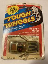 Kidco Tough Wheels 1/60th Scale 1981 16000 Datsun 10th Anniversary On Card