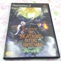 USED PS2 PlayStation 2 The Nightmare Before Christmas 50922 JAPAN IMPORT