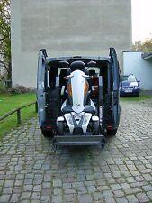 SONDERFAHRZEUG Behinderten Rollstuhl Motorrad Transporter mit hydraulischem Lift