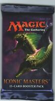 MTG Magic the Gathering ICONIC MASTERS BOOSTER PACK SEALED