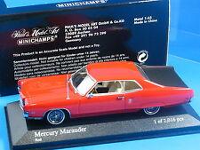 1:43 CAR MODEL MINICHAMPS PAUL'S MODEL ART MERCURY MARAUDER RED / BLACK MIB