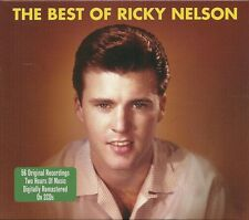THE BEST OF RICKY NELSON - 2 CD BOX SET - HELLO MARY LOU, TRAVELIN' MAN & MORE