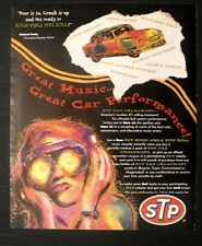 1995 Richard Petty NASCAR CAR Racing STP Music Tapes Offer Vintage Promo Art AD