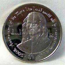 Bvi 500th Anniversary Mona Lisa 2006 $1 Cuni Coin uncirculated