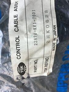 Honda NS125F Clutch cable TSK 22870-KR1-7601