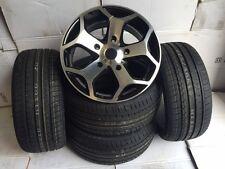 "18""black pol Ford Transit Alloy Wheels-Commercial Van MK6 /MK7/MK8-st with tyres"