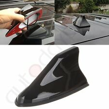 Auto Car Shark Fin Universal Roof Antenna Radio FM/AM Decoration Aerial Black US