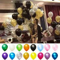 100pc 10Inch Latex Balloons Wedding Birthday Party Baby Shower Decoration Ballon