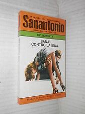 SANA CONTRO LA IENA Le inchieste del commissario Sanantonio 63 Mondadori 1975 di