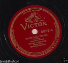 Arthur Rubinstein on 78 rpm Victor 8895/8896 Bach Toccata in C Major
