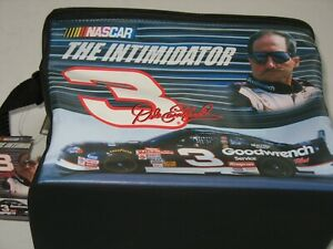 NWT Dale Earnhardt 2001 Soft Side 12 Can Cooler # 3 Nascar The Intimidator Goodw