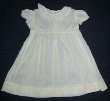 VTG Best &Co Liliputian Bazaar Hand Made baby Dress Christening Portrait Sheer