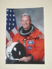 NASA Astronaut BRIAN DUFFY Signed 4x6 Photo AUTOGRAPH 1A