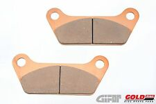 Gold Fren Motorcycle Rear Brake Pads 061AD Harley Davidson HD FLH Classic Tour