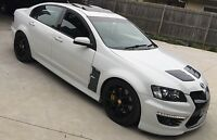 VE HSV VECTOR VENTS/FLUTES-SV BLACK EDITION-CLUBSPORT-SENATOR-GTS-MALOO-GXP-R8