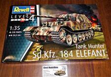 WWII German Tank Hunter Panzerjäger Sd.Kfz. 184 Elefant in 1:35 Revell 03254 Neu