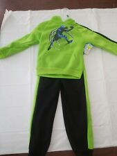 Boy's Size 5-6 Graphic Hoodie and Pants Set - Basketball -w/ Front Pocket