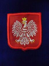 Aufnäher Polska Polen Naszywka Orzeł Biały godło Polski Godlo polskie Patches PL