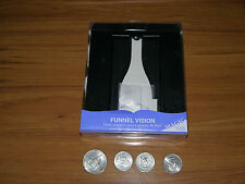Tenyo Funnel Vision T-182 Brand New English Packaging with all required coins!