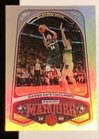2019-20 Panini Chronicles Basketball Giannis Antetokounmpo Marquee #248 MINT!