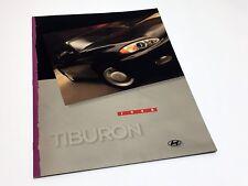 1998 Hyundai Tiburon FX Brochure