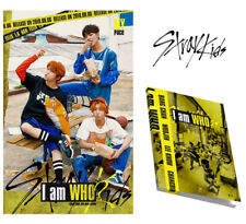 Stray Kids I Am Who 2nd Mini Album 2set Ver CD Photobook Photocard Etc