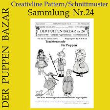 DER PUPPEN BAZAR Nr. 24 - Schnittmuster - Trachtenmode für Puppen