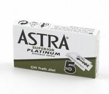 Astra Green Superior Platinum | Double Edge Razor Blades | Premium Safety DE 😮