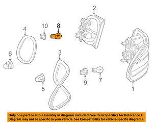 Mercedes MERCEDES-BENZ OEM 00-06 E320-Exterior Bulb 600000000006