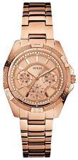 GUESS Damen-Quarz - (Batterie) Armbanduhren für Erwachsene