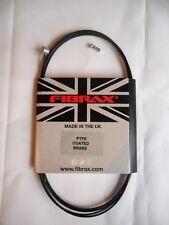 FIBRAX PTFE Coated Bike Brake Cable Inner Wire - Barrel Nipple 1.8m