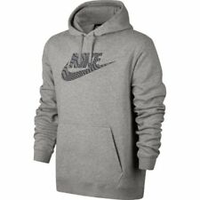 Mens Nike Pullover Hoodie 861726-063 Grey Brand New Size 2XL