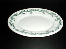 "Greenwood China Trenton NJ  Ironstone Restaurant Ware 9-1/2"" Oval Platter 1890"