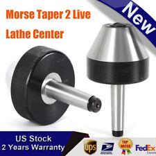 Mt2 Bull Nose Live Center Morse Taper 2 For Lathe Large Dia 74mm Us Stock