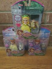 3 New SOFIA THE FIRST Figure CLOVER Lot SKYE Complete Set AMBER Doll JASPER
