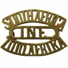 South African Army Infantry Division / Africa Corps Shoulder Title Badge - ZC62