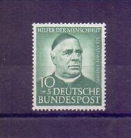 Bund 1953 - MiNr. 174 mit Wasserz. 4 Y postfr.** geprüft - Michel 65,00 € (117)