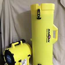 Euramco Safety Ed7002 8 Confined Space Blower With 15 Duct 13 Hp 980 Cfm