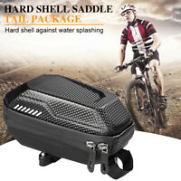 MTB Bicycle Bag Bike Saddle Bag Waterproof Cycling Rear Seatpost Tail Pouch Case