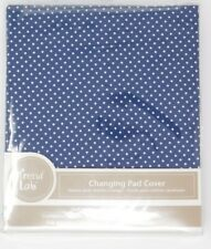 Trend Lab Blue with White Dots Changing Pad Cover