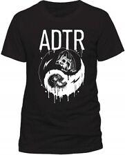 A DAY TO REMEMBER ADTR Yin Yang Men T-Shirt Cotton Official Rock Merch Size:S