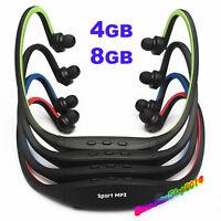 Lettore MP3 Musica Sport Fitness cuffie senza Fili Supporta micro SD