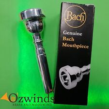 Bach Trumpet Mouthpiece 3C, Silver Plated.
