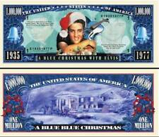OUR ELVIS PRESLEY BLUE CHRISTMAS BILL (FREE HARD DURABLE PROTECTIVE SLEEVE)
